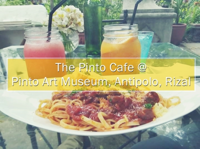 The Pinto Cafe @ Pinto Art Museum, Antipolo, Rizal